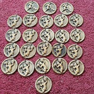 Jewelry - Vintage cheerleaders medal 21 of them